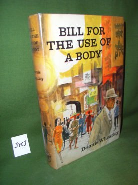 Book cover ofBill for the use of a body