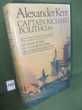 Book cover ofCaptain Richard Bolitho RN