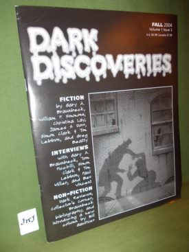 Book cover ofDark Discoveries Vol 1 issue 3