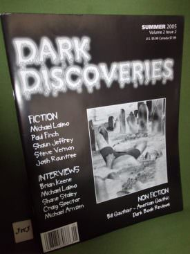 Book cover ofDark Discoveries Vol 2 2