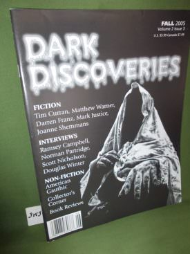 Book cover ofDark Discoveries Vol 2 3