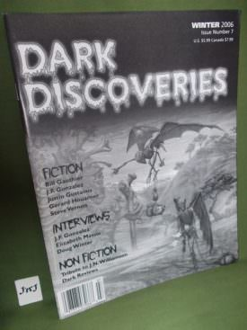 Book cover ofDark Discoveries no 7