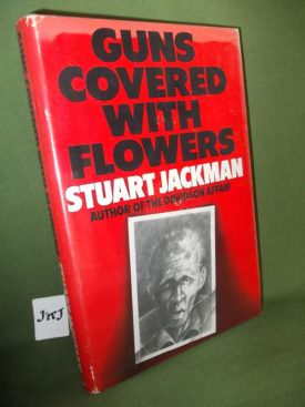 Book cover ofGuns covered with flowers