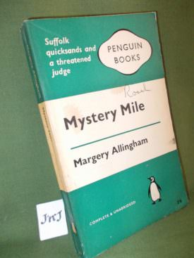 Book cover ofmystery-mile
