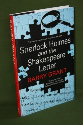 Book cover ofSherlock HOlmes and the Shakespeare Letter