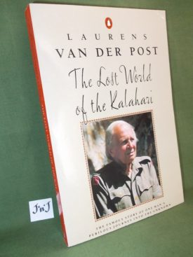 Book cover ofThe lost world of the Kalahari