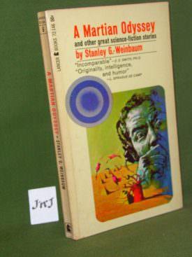 Book cover ofa-martian-odyssey