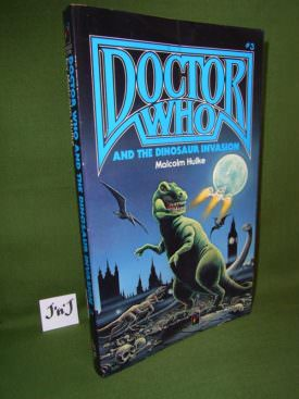 Book cover ofdoctor-who-and-the-dinosaur-invasion