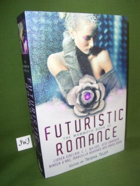 Book cover ofMammoth Book Futuristic Romance