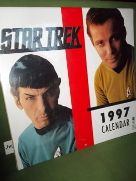 Book cover ofStar Trek Calendar 1997