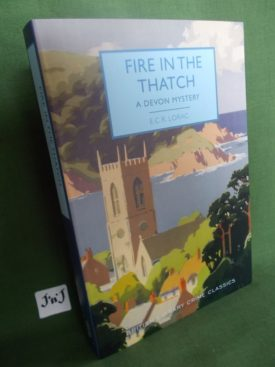 Book cover ofFire in the Thatch