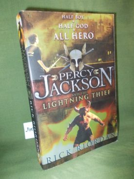 Book cover ofPercy Jackson and the Lightning Thief
