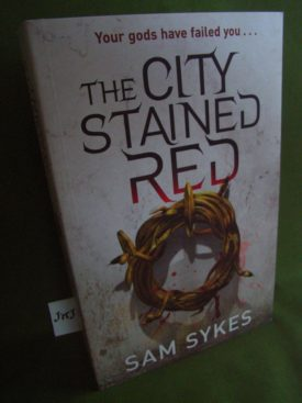 Book cover ofThe City Stained Red