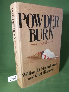 Book cover ofPowder Burn