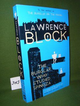 Book cover ofThe Burglar who Studied Spinoza