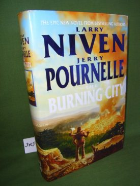 Book cover ofThe Burning City