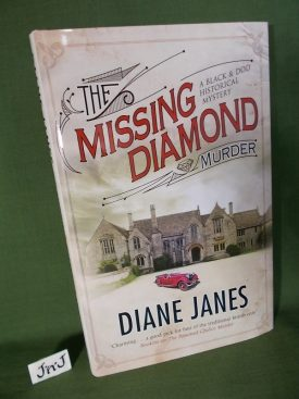 Book cover ofThe Missing Diamond Murder