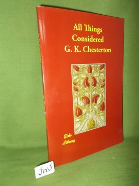 Book cover ofAll Things Considered