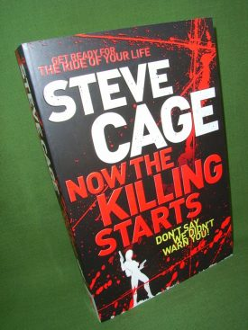Book cover ofNow the Killing Starts