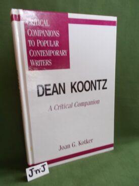 Book cover ofDean Koontz A Critical Companion